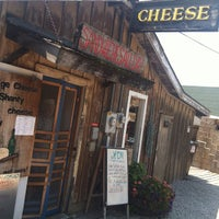 Photo taken at Fishtown Village Cheese Shanty by Ben R. on 7/6/2012
