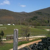 Photo taken at Neochori Football Field by Christos Z. on 4/23/2011