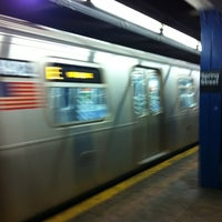 Photo taken at MTA Subway - 14th St/Union Square (4/5/6/L/N/Q/R/W) by Steve B. on 10/24/2011
