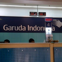 Photo taken at Garuda Indonesia Danareksa by Ingrid W. on 10/11/2011