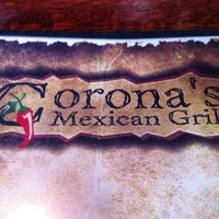 Photo taken at Corona's Mexican Grill by Karyn C. on 12/30/2010