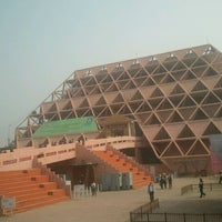Photo taken at Pragati Maidan-Hall No. 11 by Amit K. on 11/19/2011