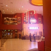 Photo taken at Regal Cinemas Riviera 8 by Marie C. on 1/10/2012