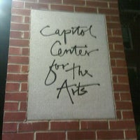 Photo taken at Capitol Center for the Arts by Pete S. on 10/21/2011