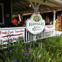 Photo taken at Hanalei Coffee Roasters by David R. on 6/30/2012