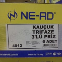 Photo taken at Ne-Ad Elektrik by Süleyman A. on 9/16/2011