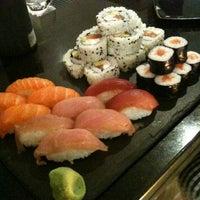 Photo taken at Sensations Sushi Marbella by Lisa M. on 4/11/2011