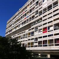 Photo taken at Cité Radieuse Le Corbusier by Boris P. on 5/16/2012