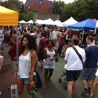 Photo taken at Brooklyn Flea - Fort Greene by Noah P. on 6/25/2011