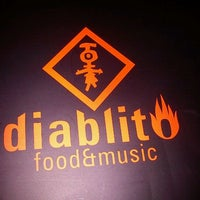Photo taken at diablito food&music by Tamara H. on 1/13/2012