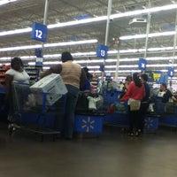 Photo taken at Walmart Supercenter by Luis V. on 5/28/2012