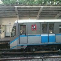 Photo taken at metro Fili by Dmitriy K. on 7/30/2012