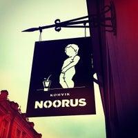 Photo taken at Kohvik Noorus by Daniel B. on 11/1/2011