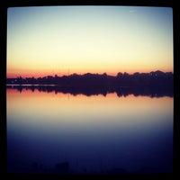 Photo taken at Lake Montebello by Justin H. on 9/12/2012
