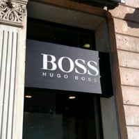 Photo taken at Hugo Boss by Perseo M. on 1/7/2012