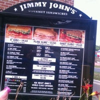 Photo taken at Jimmy John's by Neecie on 9/6/2011