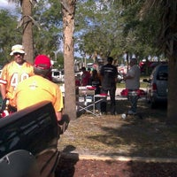 Photo taken at Spall Leonard Reynolds Etc Tailgate by Tiffany R. on 12/4/2011