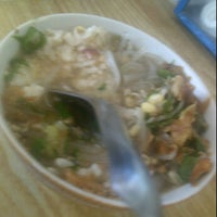 Photo taken at Soto Ayam Asli Pak No by Aulia A. on 12/25/2011