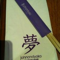 Photo taken at John and Yoko Cosmopolitan Japanese by Kaycee L. on 12/28/2011