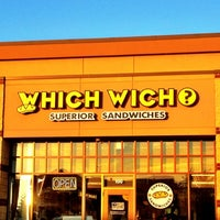 Photo taken at Which Wich? Superior Sandwiches by Mr. E. on 6/6/2012