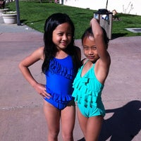 Photo taken at Silliman Family Aquatic Center by Alina N. on 4/22/2012