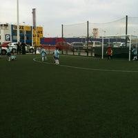 Photo taken at Escuela Fútbol L'Aljub by Fernando G. on 3/31/2012