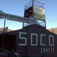 Photo taken at Soco Crafts and Tower by Whitney O. on 1/28/2012