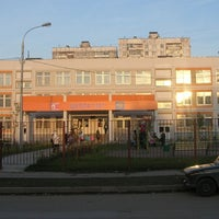 Photo taken at Школа №1347 (главное здание) by Nataly S. on 4/19/2012