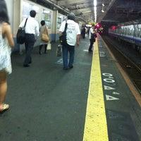 Photo taken at JR Mikunigaoka Station by しぃちゃん on 7/24/2011