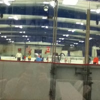 Photo taken at Columbia Ice Rink by Maggie R. on 9/15/2011