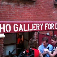 Photo taken at SoHo Gallery for Digital Art by Kym M. on 5/18/2012