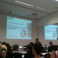 Photo taken at FOM Hochschule für Oekonomie & Management - Hörsaalzentrum II by Christian F. on 11/18/2011