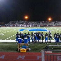 Photo taken at Campbell Spartans Field by Big S. on 10/21/2011