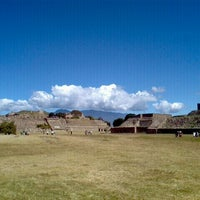 Photo taken at Monte Albán by Luisa Fer J. on 10/30/2011