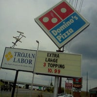 Photo taken at Domino's Pizza by Tina G. on 8/20/2011