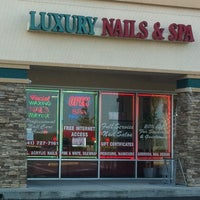 Photo taken at Luxury Nails and Spa by Stacy on 3/2/2011