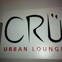 Photo taken at Cru Urban Lounge by Patricia Malone P. on 8/20/2011