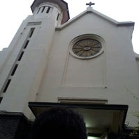 Photo taken at Kapel Hati Kudus Yesus by Andrew S. on 8/11/2012