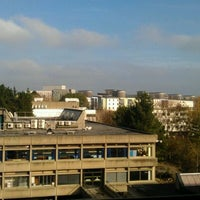 Photo taken at UEA Library by Jodie S. on 11/10/2011