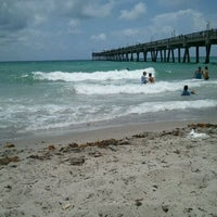 Photo taken at Dania Beach Pier by Stacy C. on 7/7/2012