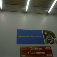 Photo taken at Walmart Supercenter by Cameron S. on 1/25/2012