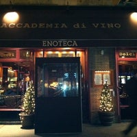 Photo taken at Accademia di Vino Broadway by sanae on 2/20/2011