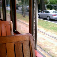 Photo taken at St. Charles Streetcar by Taylor on 10/28/2011