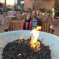 Photo taken at Festive Fireplace at Ghirardelli Square by Ruslan A. on 5/23/2012