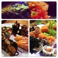 Photo taken at Hanbai Sushi Bar by Marcell S. on 7/2/2012
