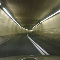 Photo taken at Fort McHenry Tunnel by Jake S. on 10/28/2011