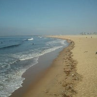 Photo taken at Seal Beach by Kelly S. on 10/10/2011