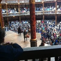 Photo taken at Shakespeare's Globe Theatre by Stefankai S. on 7/8/2012