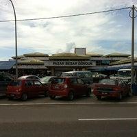 Photo taken at Pasar Besar Dungun by Hafiz on 10/30/2011