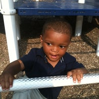 Photo taken at Burns Park Playground by Tyna S. on 5/23/2012